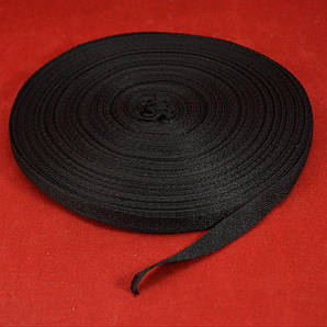 Лента киперная черный 1 см