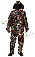 """Костюм ( штаны,куртка) демисезонный, камуфлированный, рыбалка-охота, ткань """"WINDBLOCK"""" весна-осень"""