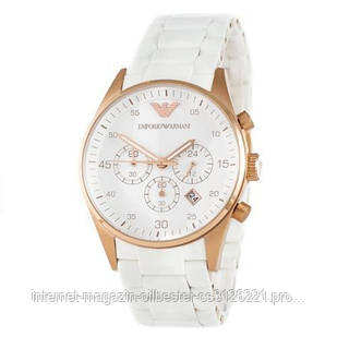 Часы мужские белые Emporio Armani