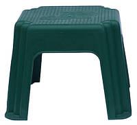 Табурет садовый пластиковый слон зеленый