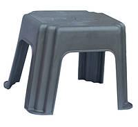 Табурет для пикника пластиковый слон серый