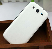 Белая Задняя крышка на Samsung Galaxy S3 i9300, фото 1