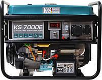 Генератор бензиновый Konner&Sohnen KS 7000E 5.5кВт однофазный Германия, фото 1