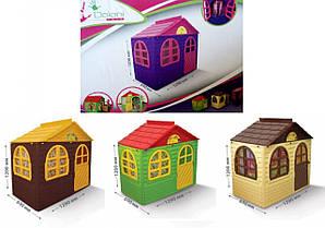 Детский домик со шторками 02550/13 Doloni, дом, будиночок долони