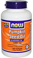 Pumpkin Seed Oil(масло семян тыквы),100 капсул,Здоровье простаты,артерий,печени