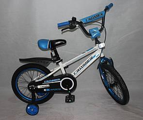 Велосипед двухколёсный 18 дюймов  Azimut  SPORTS CROSSER -1***