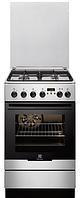 Газовая плита Electrolux EKK 54554 0X (50 см,электрическая духовка,нержавеющая сталь)