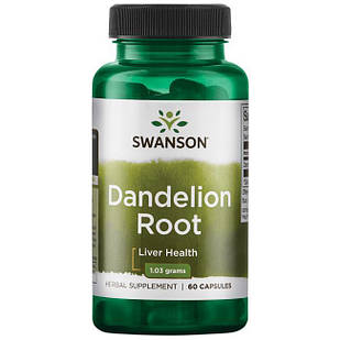 Корень одуванчика Dandelion Root 515 мг 60 капс