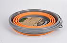 Ведро складное силиконовое Tramp 10L orange, фото 4