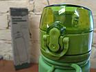 Бутылка силиконовая Tramp 500 мл olive. Фляга для воды. Складная силиконовая бутылка с карабином, фото 10