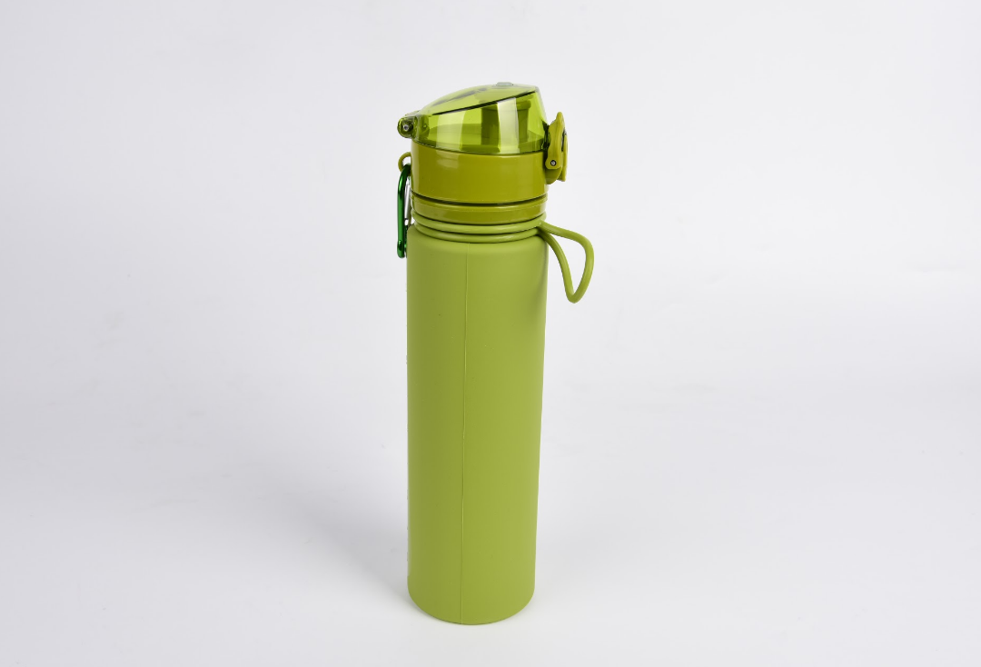 Пляшка силіконова Tramp 700ml olive