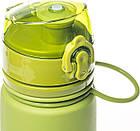 Пляшка силіконова Tramp 700ml olive, фото 5