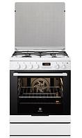 Газовая плита Electrolux EKK 6450 AOW (60 см,электрическая духовка,белый)
