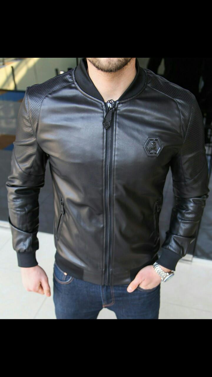 54ab1044a05 Стильные мужские куртки Люкс качество! Легкие весенние модели  Высококачественная мягкая эко-кожа Размеры S