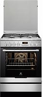 Газовая плита Electrolux EKK 6450 AOХ (60 см,электрическая духовка,нержавеющая сталь)