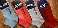 """Женские стрейчевые носки,сетка,короткие в стиле""""Хьюго Босс"""" Турция 36-41 яркие, фото 1"""