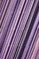 Шторы нити Радуга вертикальная розовый+сиреневый+сливовый, фото 1