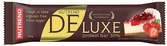 Батончик протеиновый Nutrend - DeLuxe protein bar 30% (60 грамм) клубничный чизкейк