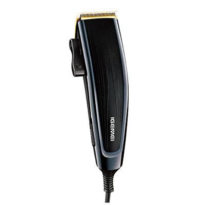 Професійна машинка для стрижки волосся Gemei GM835 з титановим ножем