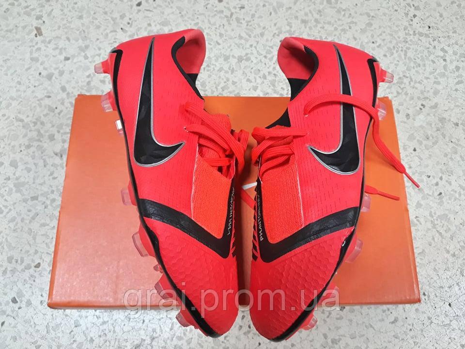 fecf030c Детские бутсы Nike Phantom Venom Elite FG Crimson/Black: продажа ...