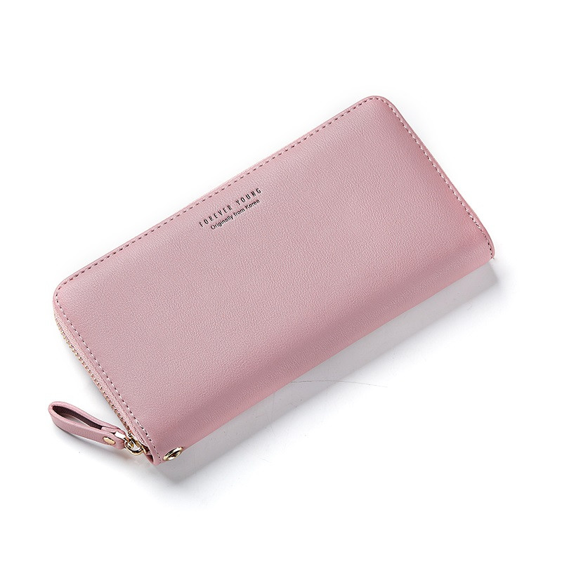 Женский кошелек портмоне Weichen LW-7575-A розовый