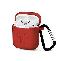 Силіконовий чохол для Apple AirPods Червоний