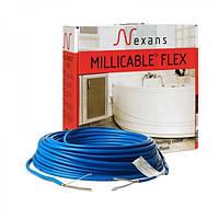 Кабельный теплый пол без стяжки Nexans Millicable Flex 15 1050W. Площадь укладки 7,0м2