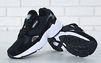 Женские кроссовки Adidas Falcon black