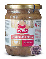 Мясной деликатес с курицей для кошек (500 гр.,) My Mio™