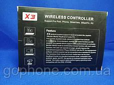 Джойстик беспроводной X3 (PC/Android/IOS/Mac) + Крепления для телефона в подарок!, фото 3