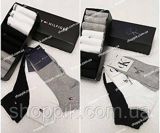 Мужские носки Calvin Klein , Tommy Hilfiger Набор 9 пар в подарочной упаковке