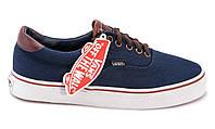 Женские кеды Vans Authentic джинсовые синего цвета