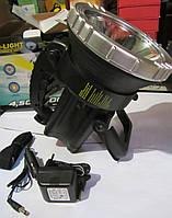 Светодиодный аккумуляторный фонарь GD-2005 LX с галогеновой лампой
