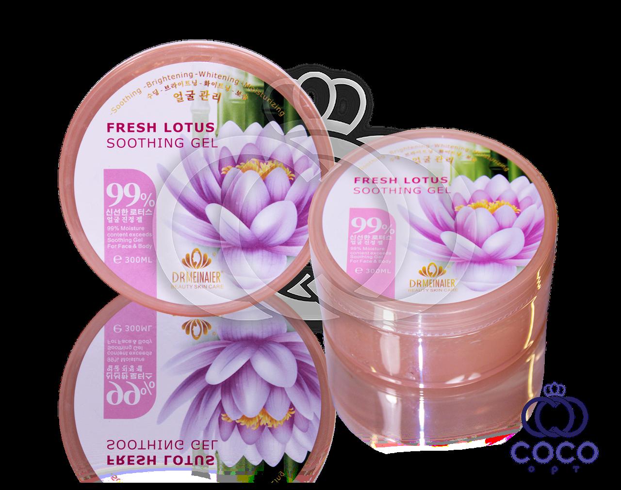 Гель для обличчя і тіла Fresh Lotus Soothing Gel (Свіжість лотоса)