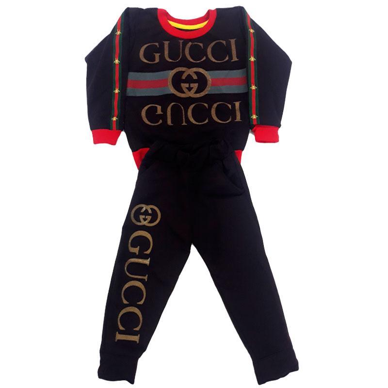 Костюм для девочек «Gucci» бордовый,  на 1-5 лет
