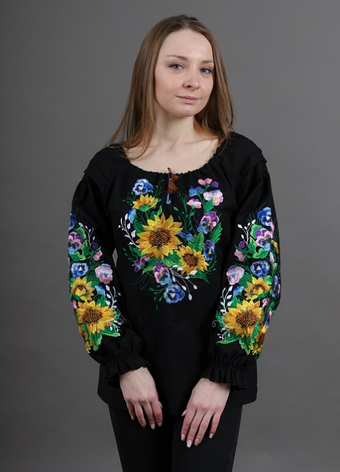 """Блуза - вышиванка """" Марьяна"""", фото 2"""