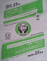 Цемент ЛидерТех ПЦ I-500-Н д0