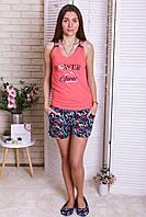 Комплект женский майка и  шорты Nicoletta, фото 1