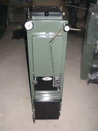 Твердотопливный котел Термит-TT 10 кВт эконом (без обшивки)