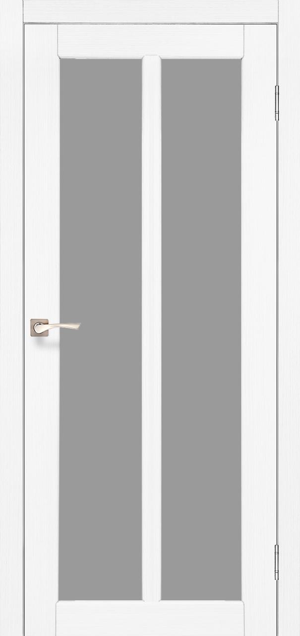Двери KORFAD TR-02 Полотно+коробка+2 к-та наличников+добор 100мм, эко-шпон