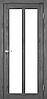 Двери KORFAD TR-02 Полотно+коробка+2 к-та наличников+добор 100мм, эко-шпон, фото 4
