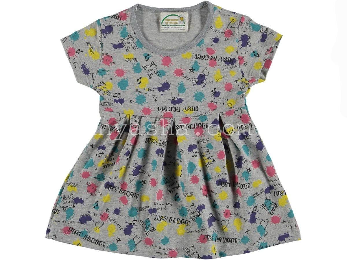 Платье хлопок для девочки 5-8