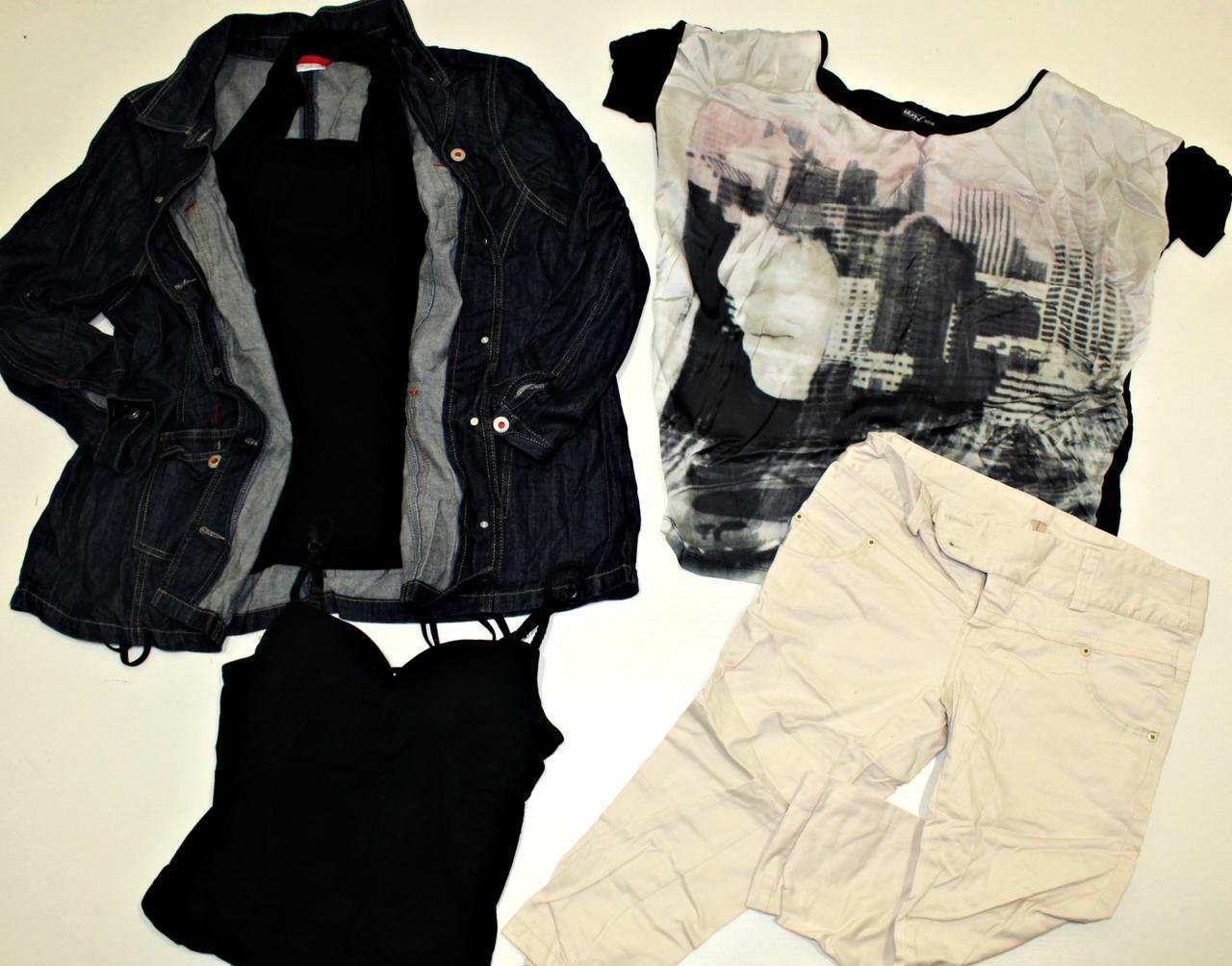 Секонд хенд летняя одежда микс мужская и женская Оптом от 40 кг