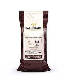 Шоколад чорний Callebaut 811NV - 595, какао 54,5% 10 кг