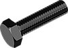 Болт М6х16 с шестигранной головкой сталь кл. пр. 10.9, БП, полная резьба ГОСТ 7798 (DIN 933)