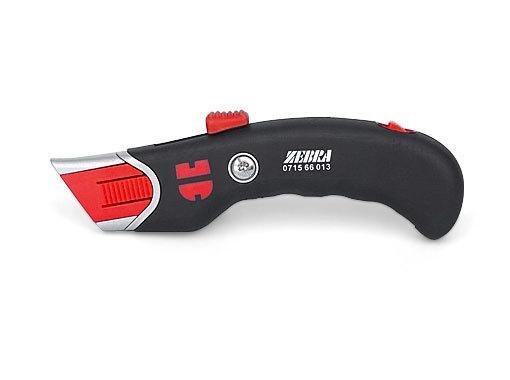 Безопасный нож ZEBRA с биметаллическим лезвием трапецевидное лезвие 18 мм Wurth