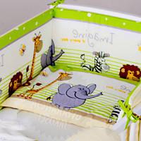 """Постельный набор  в кроватку  """"Африка"""" (защита на все стороны кроватки), фото 1"""