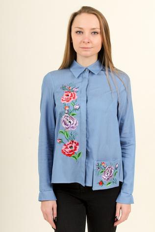 """Блуза - вышиванка """"Радость весны"""", фото 2"""