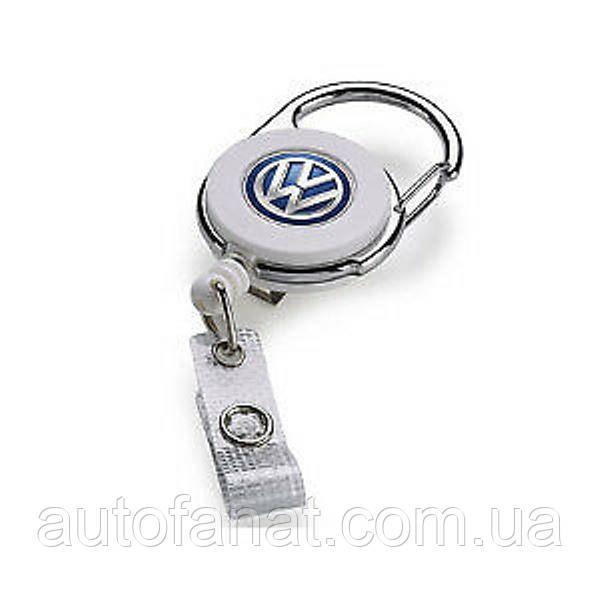 Оригинальный брелок-держатель для пропуска Volkswagen Badge Holder (000087019G)