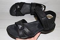 Сандалии Adidas мужские натуральная кожа (Реплика)